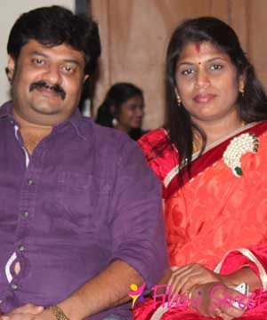 vendhar movies madhan with wife